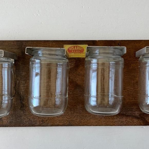 Vis A Part jars storage organizer jewelry spices